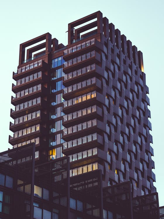 appartementen, appartementencomplex, architectueel design