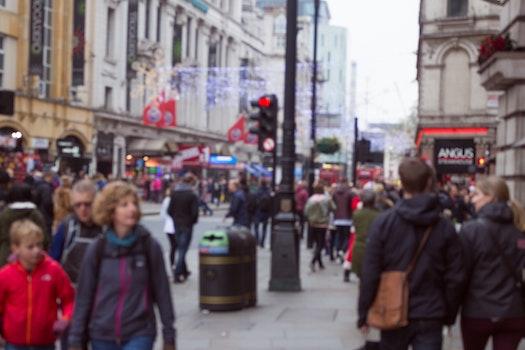 Free stock photo of city, road, people, street