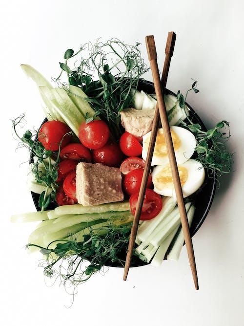 Vegetales En Un Tazón