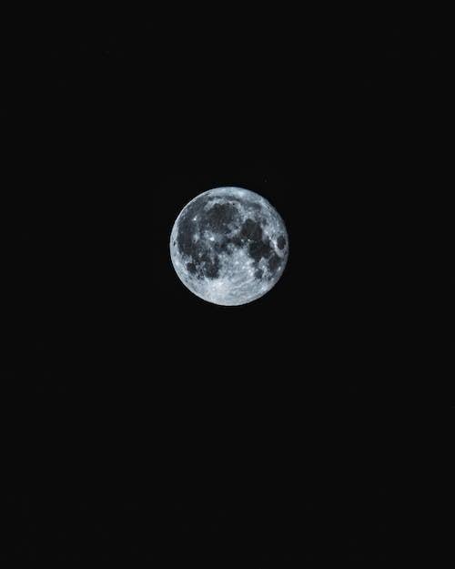 Kostenloses Stock Foto zu kugel, mond, mondlicht, nacht