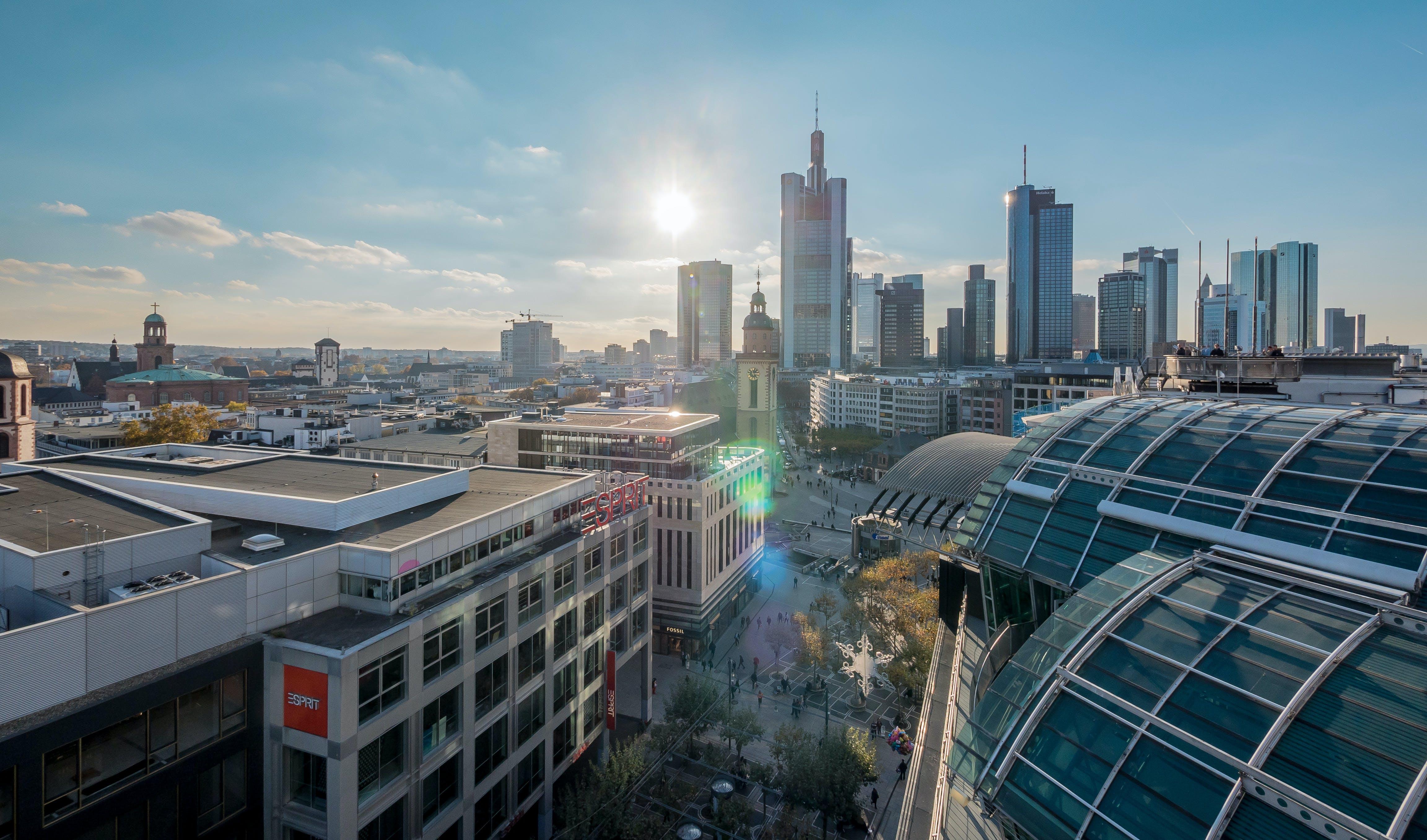 Free stock photo of frankfurt, Hauptwache, skyline, Zeil