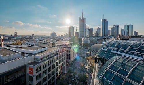 Immagine gratuita di francoforte, hauptwache, skyline, zeil