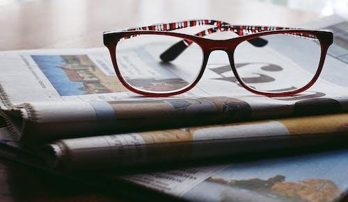 Black and Red Frame Eyeglasses