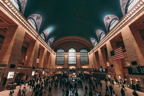 Free stock photo of grand central station, manhattan, new york
