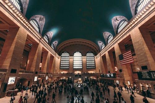 Darmowe zdjęcie z galerii z dworzec, manhattan, nowy jork, pociąg