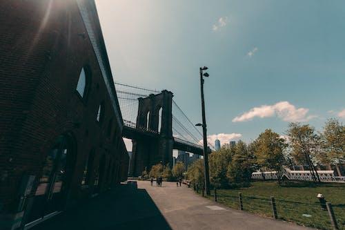 Darmowe zdjęcie z galerii z brooklyn, most brookliński, nowy jork