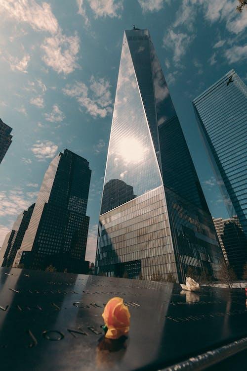 Darmowe zdjęcie z galerii z manhattan, nowy jork, world trade center