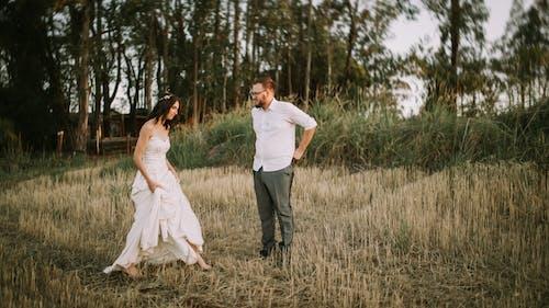 一對, 姻緣, 婚禮, 婚禮當天 的 免費圖庫相片
