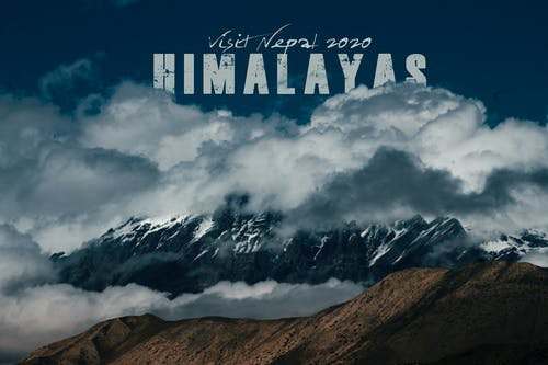 Free stock photo of the himalayas nepal