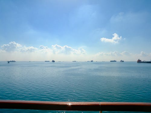 Δωρεάν στοκ φωτογραφιών με Αίγυπτος, μεγάλη πικρή λίμνη, πλοία