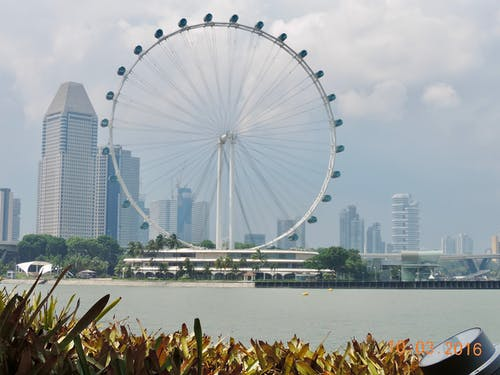 Δωρεάν στοκ φωτογραφιών με singapore flyer