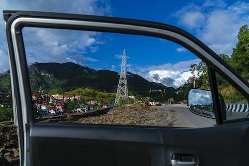 Foto d'estoc gratuïta de `finestra, cel, himachalpradesh, muntanyes