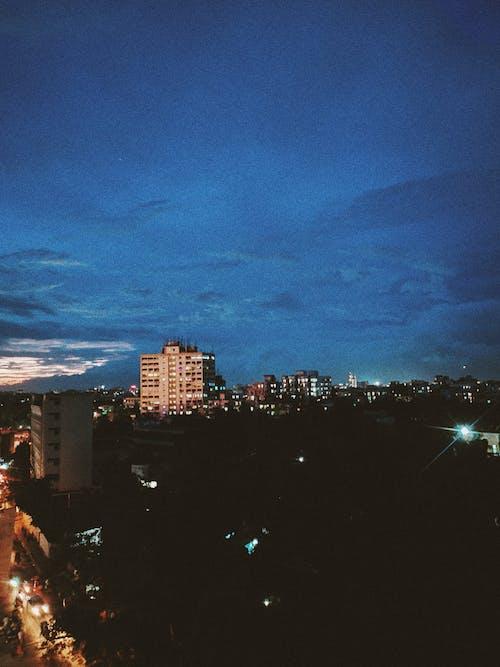 Imagine de stoc gratuită din apus, oraș noaptea