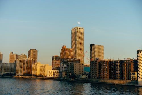 Foto profissional grátis de água, área urbana, arquitetura, arranha-céus