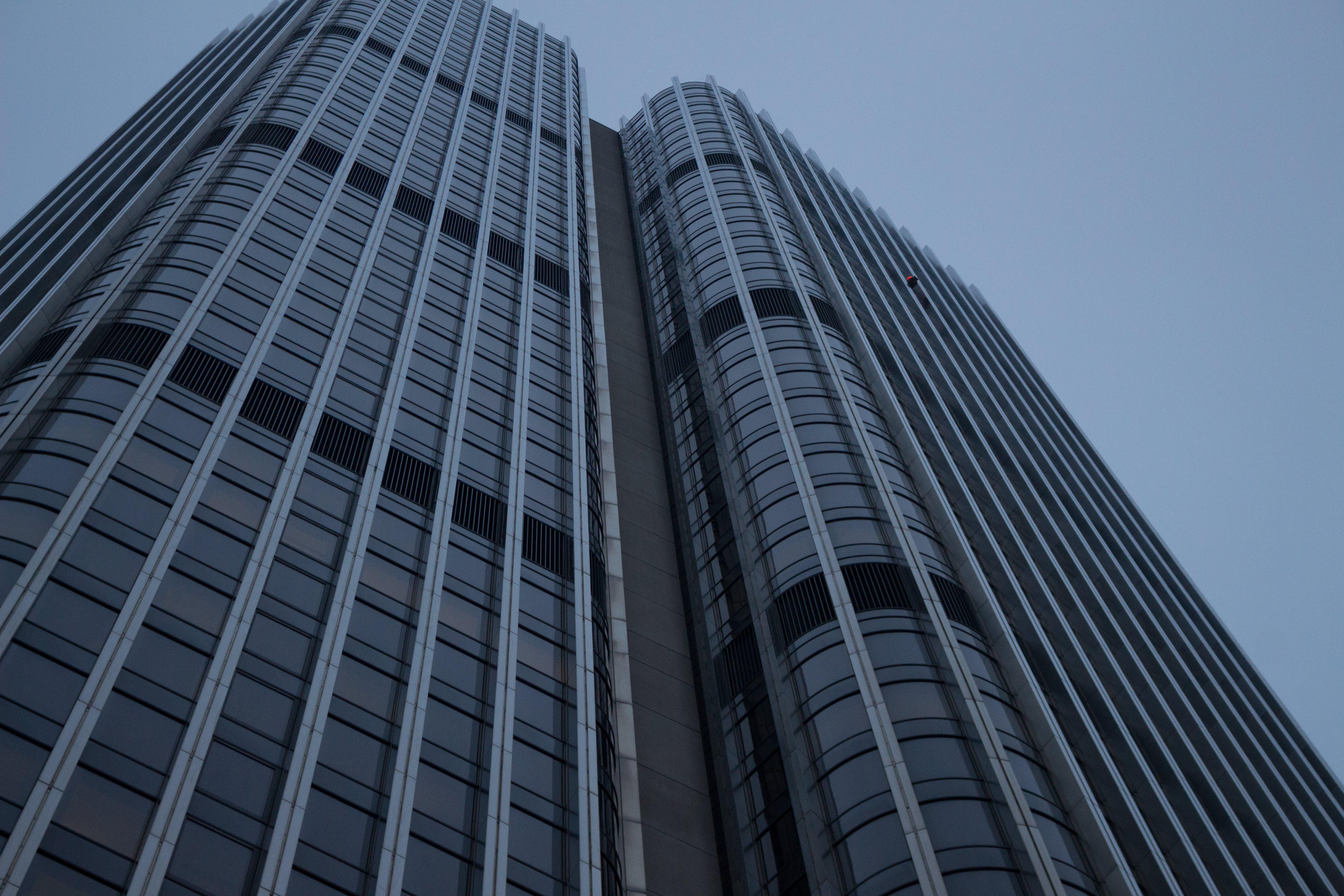 Immagine gratuita di alba, architettura, articoli di vetro, centro città