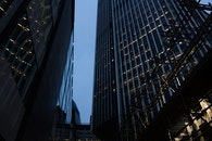 city, lights, buildings