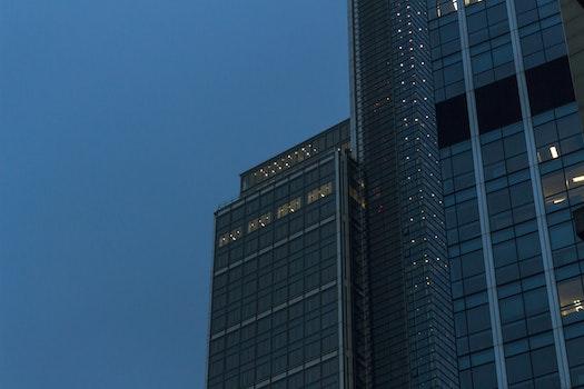 Free stock photo of light, city, dawn, building