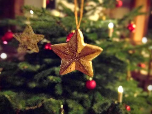 Star Pre-lit Tree Ornament
