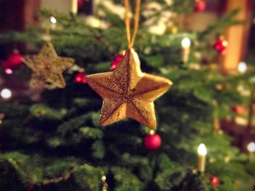 Star Pre-lit Tree Ornament
