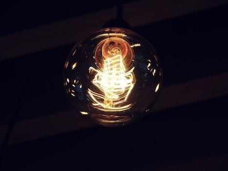 Free stock photo of light, dark, lamp