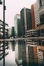city, building, skyscrapers