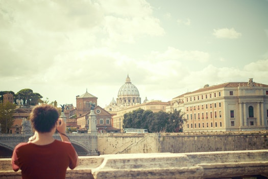 Free stock photo of person, taking photo, photographer, tourist