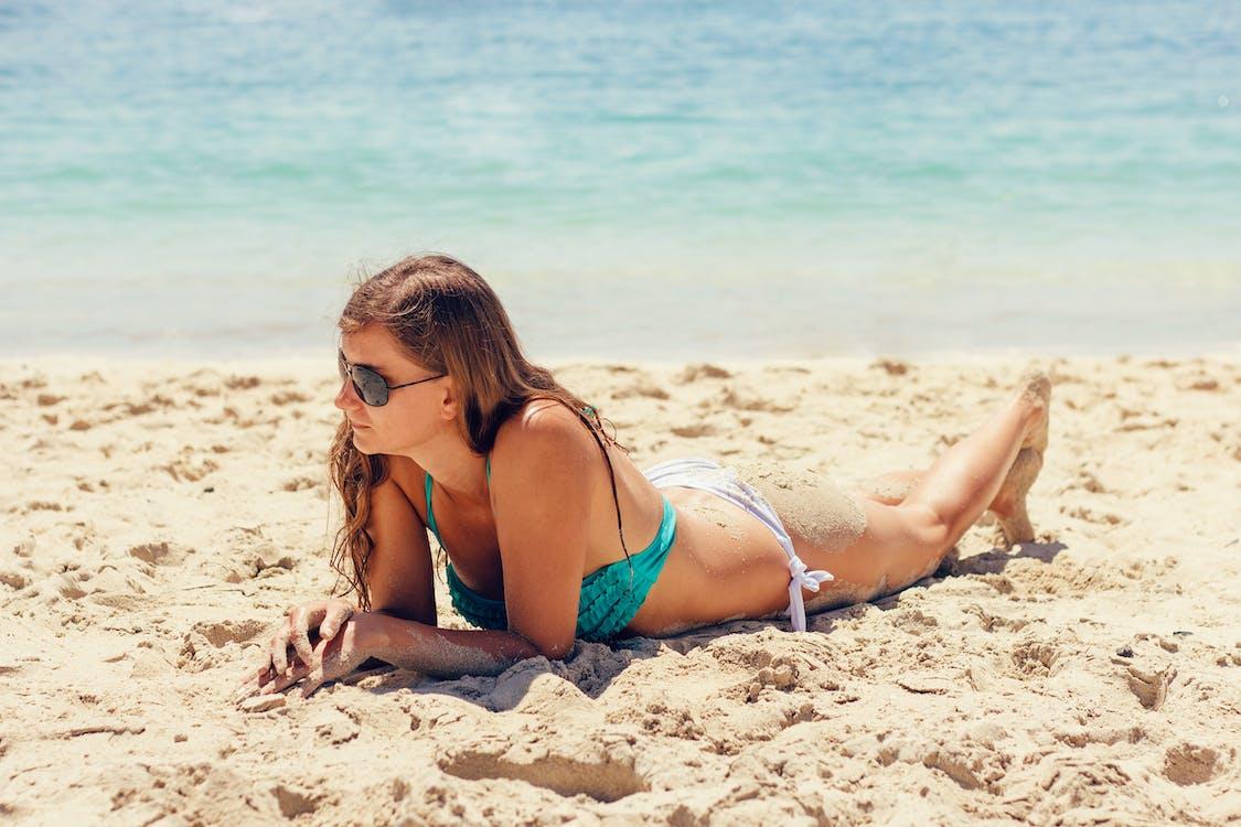 bikini, dovolená, krásný