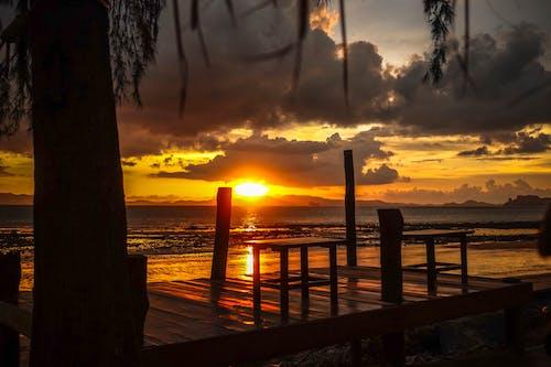 Free stock photo of Beautiful sunset, photo shoot, sunset, sunset beach