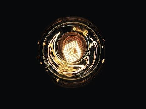 Free stock photo of light, dark, lamp, electricity