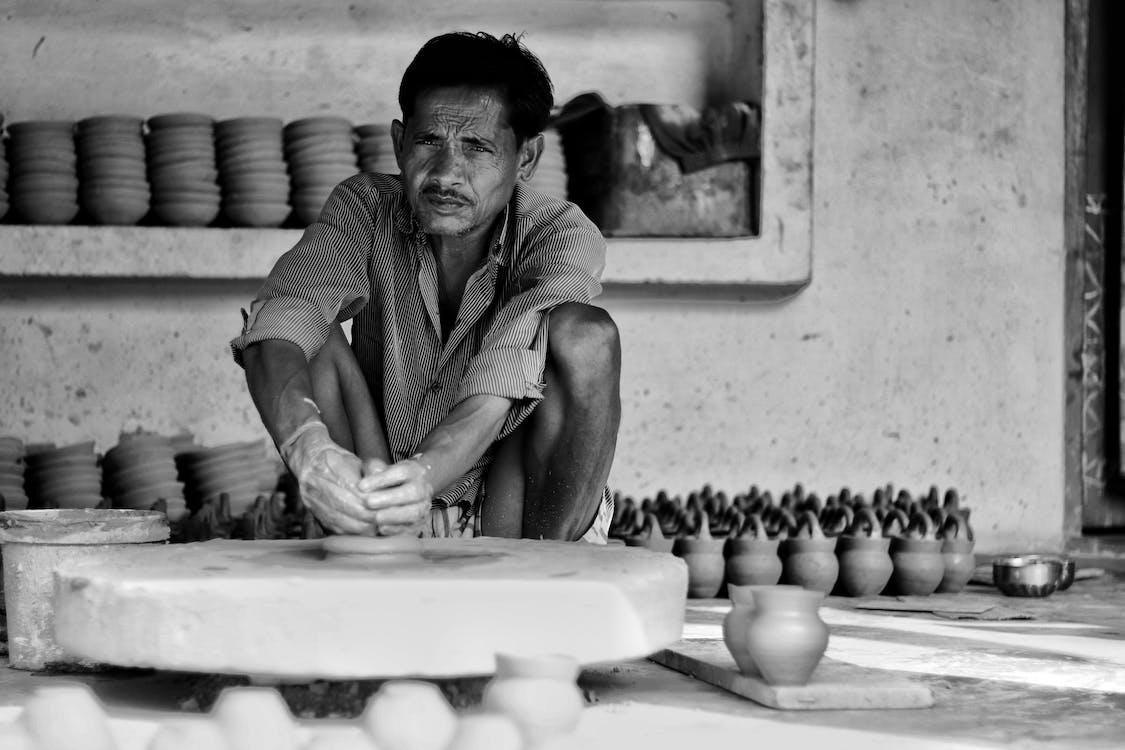 asiatischer mann, bw fotografie, dressman