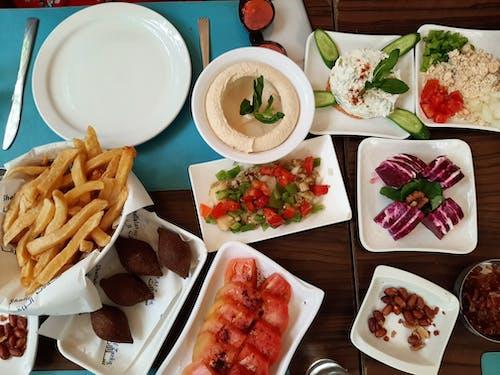Základová fotografie zdarma na téma jídlo, libanonské jídlo, meza, vzorec