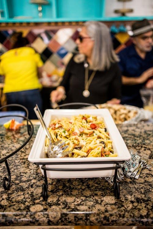 bord, buffet, cuisine