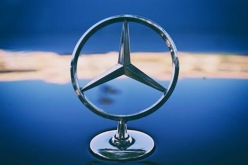 Gratis lagerfoto af bil, biler, blå bil, mercedes