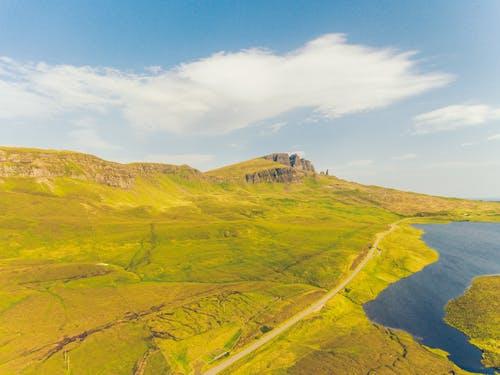 Free stock photo of beautiful landscape, isle of skye, lake, landscape