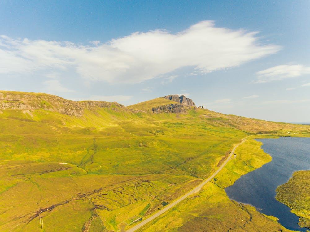 beautiful landscape, isle of skye, lake