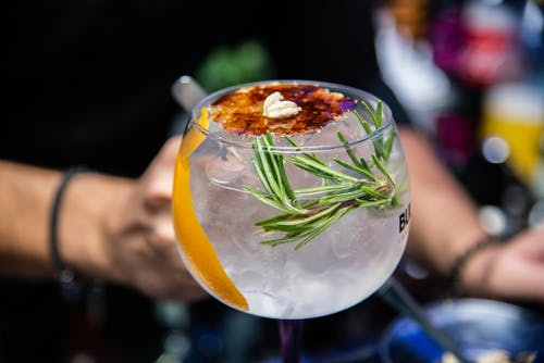 Close-up Photo of Cocktail With Herb