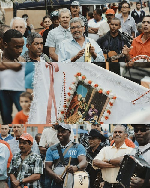 Foto profissional grátis de amontoado, ao ar livre, celebração, cerimônia