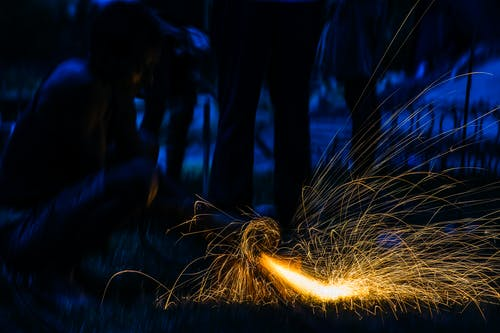 Free stock photo of fire dance, fireworks