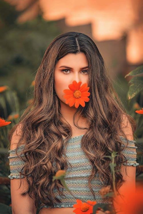 Photos gratuites de automne, beau, beauté, brune