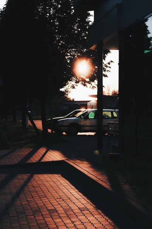 Kostenloses Stock Foto zu autos, ruhig, sonnenlicht, sonnenschein