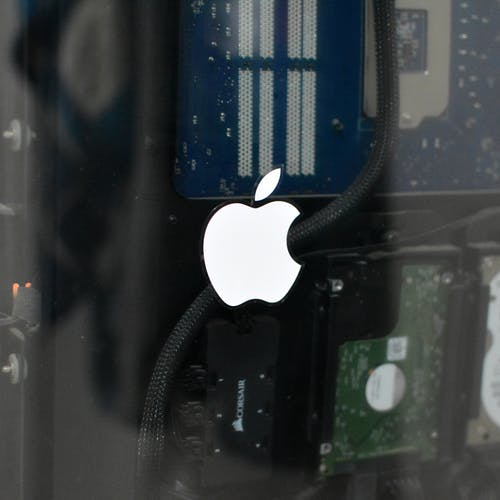 Free stock photo of apple, Apple PC, apple sticker, Glass Apple