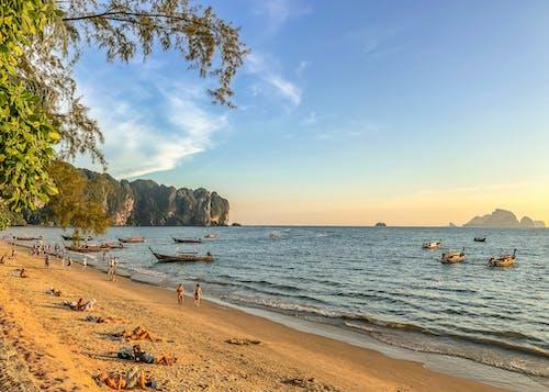 Gratis arkivbilde med ao nang, båt, hav, longboat