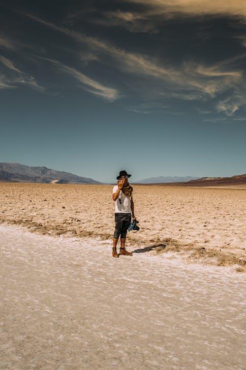 乾旱, 乾的, 人, 地質學 的 免费素材照片