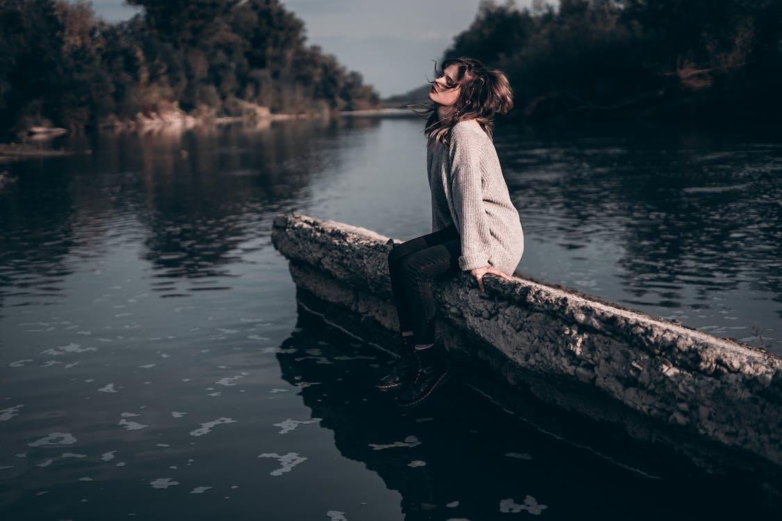 betong, ensam, fritid