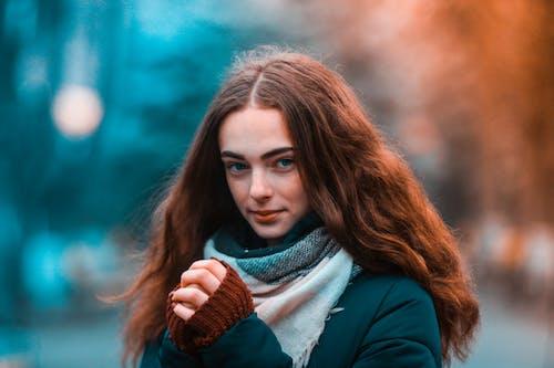 Selective Focus Portrait Photo of Woman Posing