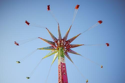 娛樂, 游乐设施, 遊樂園, 騎乘 的 免费素材照片