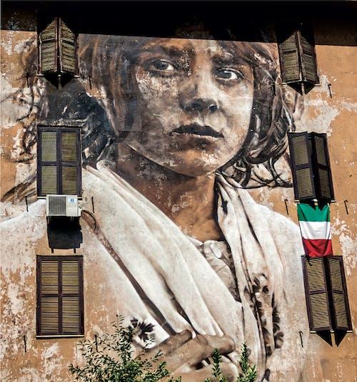 Kostenloses Stock Foto zu fenster, italien, kunst