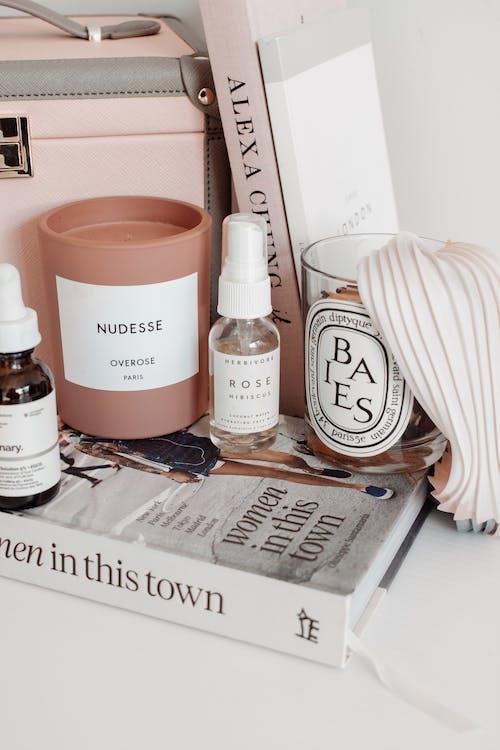 Free stock photo of beauty, candle, face mist, feminine