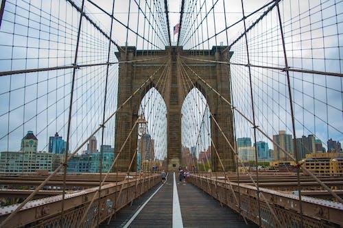 Free stock photo of bridge, brooklyn bridge, new york