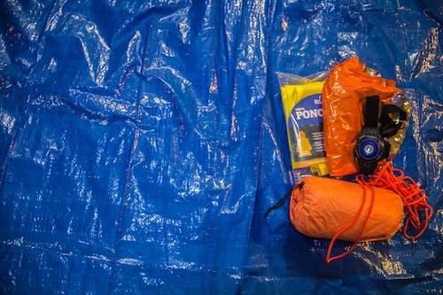 伞绳, 橙色绳, 無家可歸, 生存 的 免费素材照片